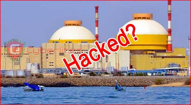 kudankulam nuclear power plant hacked