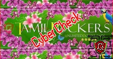 Tamil rockers cyber check