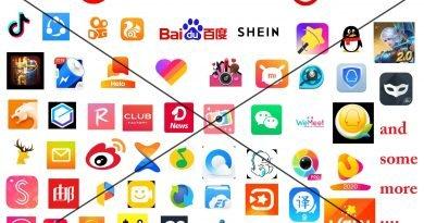 இந்திய அரசாங்கத்தால் தடை செய்யப்பட்ட 59 Apps-கள்